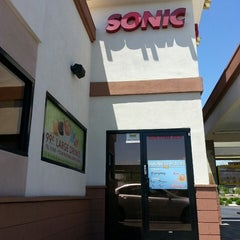 Photo taken at SONIC Drive In by Crystal A. on 5/9/2013
