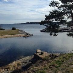 Photo taken at Gåshaga Marina by Håkan F. on 4/17/2014