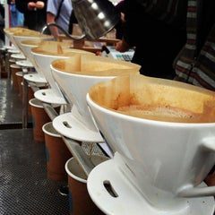 Photo taken at Blue Bottle @ Smorgasburg by Conor O. on 10/27/2012