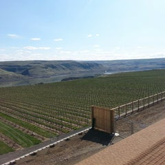Photo taken at Maryhill Winery & Amphitheater by Skyler W. on 3/21/2014
