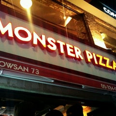Photo taken at Monster Pizza (몬스터피자) by Skyler W. on 10/20/2012