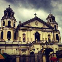 Photo taken at Minor Basilica of the Black Nazarene (Quiapo Church) by Joy S. on 1/19/2013
