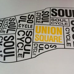 Photo taken at SoulCycle Union Square by Seth F. on 7/22/2012