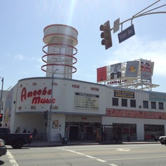 Photo taken at Amoeba Music by Steven W. on 4/23/2013