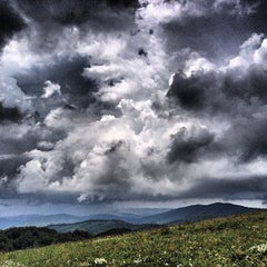 Photo taken at Max Patch by Kyle C. on 7/10/2013