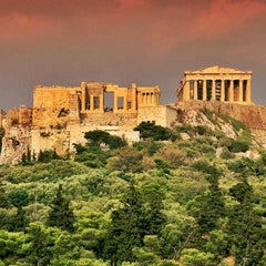 Photo taken at Ακρόπολη Αθηνών (Acropolis of Athens) by Robert O. on 6/1/2013