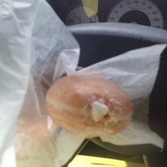 Photo taken at Krispy Kreme Doughnuts by Latrice L. on 9/19/2013