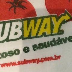 Photo taken at Subway by Olavo C. on 6/13/2014
