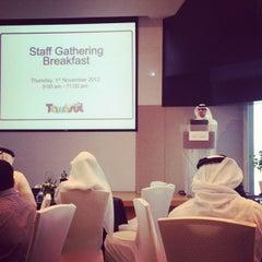 Photo taken at Dubai Chamber of Commerce & Industry غرفة تجارة وصناعة دبي by Eman A. on 11/1/2012