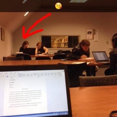 Photo taken at Library - Tacoma Community College by AliCem E. on 10/21/2014