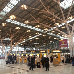 Photo taken at Stuttgart Airport Manfred Rommel (STR) by Сергей К. on 11/27/2012