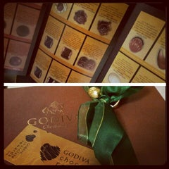 Photo taken at Godiva Chocolatier by Porus R. on 11/23/2012