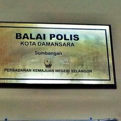 Photo taken at Balai Polis Cawangan Trafik Kota Damansara by ₩@₩@ A. on 10/16/2013