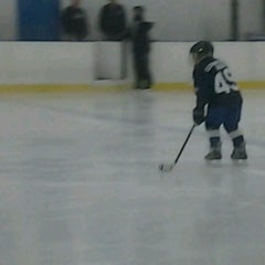 Photo taken at Clearwater Ice Arena by Penny G. on 10/28/2012