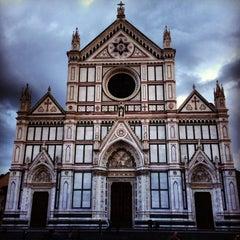 Photo taken at Basilica di Santa Croce by Derik T on 6/3/2013