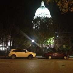 Photo taken at Capitol Square by James G. on 10/20/2012