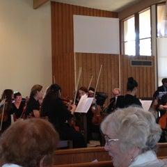 Photo taken at Mt. Tamalpais United Methodist Church by Donald F. on 10/21/2012