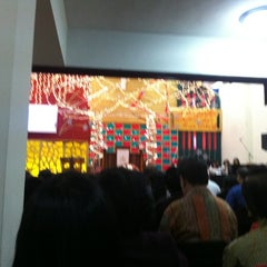 Photo taken at Gereja Kristen Indonesia (GKI) Ngagel by Nicolaas E. on 12/31/2012