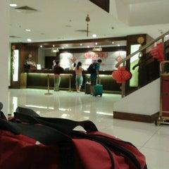 Photo taken at Gaya Centre Hotel by MZahir on 2/9/2013