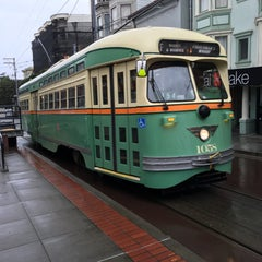 Photo taken at MUNI Bus Stop - Castro & 17th by Mark P. on 3/12/2016
