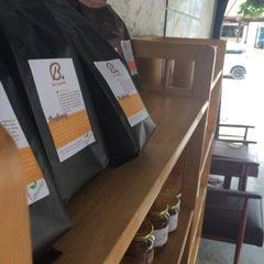 Photo taken at Boy's Organic Coffee Shop by Julia L. on 6/15/2015