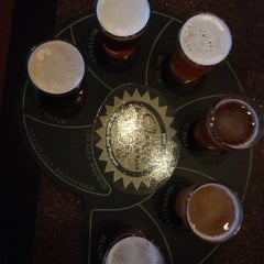 Photo taken at RAM Restaurant & Brewery by Andrea F. on 12/1/2012