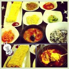 Photo taken at 맛있는 순두부&김치찜 경성대점 by Resa R. on 10/22/2012