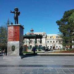 Photo taken at Plaza de Armas by Jorge Ayauhtli O. on 4/11/2016