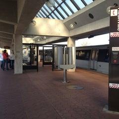 Photo taken at Rockville Metro Station by Ange N. on 11/5/2012