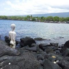 Photo taken at Puʻuhonua o Hōnaunau National Historical Park by David V. on 11/7/2012