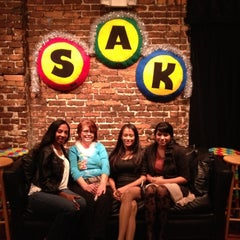 Photo taken at SAK Comedy Lab by Denisse R. on 12/9/2012