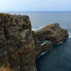 Photo taken at Faro de Cabo Vidio by Alejandro M. on 8/14/2015