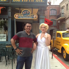 Photo taken at Hollywood Boulevard by Welly R. on 10/13/2014