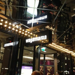 Photo taken at Wagamama by Anders Saron D. on 10/11/2012