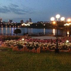 Photo taken at Парк Щербакова by Anika💋 K. on 6/11/2013
