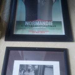 Photo taken at Cafe Normandie by Alinka G. on 7/18/2013
