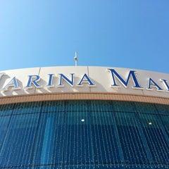 Photo taken at Marina Mall by Maria O. on 2/15/2013