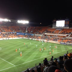 Photo taken at BBVA Compass Stadium by RGR on 3/6/2013