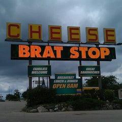Photo taken at The Brat Stop by Chris B. on 7/23/2013