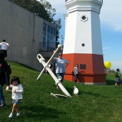 Photo taken at Vermilion Lighthouse by Amy K. on 9/28/2014