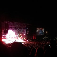 Photo taken at Toyota Amphitheatre by Martin B. on 10/2/2013