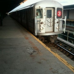 Photo taken at MTA Subway - Saratoga Ave (3) by Gary L. on 4/1/2013