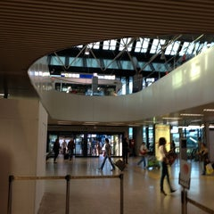 "Photo taken at Aeroporto Roma Fiumicino ""Leonardo da Vinci"" (FCO) by Giulia N. on 9/30/2013"