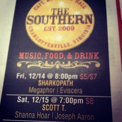 Photo taken at The Southern Café & Music Hall by Scott T. on 12/14/2012