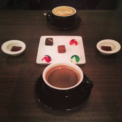 Photo taken at Shocolate Master Chocolatiers by G D. on 9/14/2013