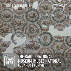 Photo taken at The Bardo National Museum I Musée national du Bardo I المتحف الوطني بباردو by Moez B. on 10/6/2013