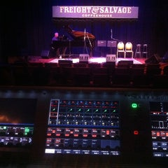 Photo taken at Freight & Salvage Coffeehouse by Nathan L. on 5/14/2013