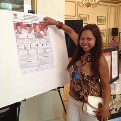 Photo taken at Konsulat Republik Indonesia by Kristanti F. on 7/5/2014