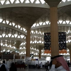 Photo taken at King Khalid International Airport (RUH) مطار الملك خالد الدولي by Abdul-malik a. on 8/15/2013