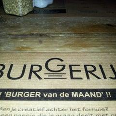 Photo taken at Burgerij by Hans V. on 10/7/2012